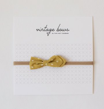 Love Well Handmade Vintage Bow Headbands
