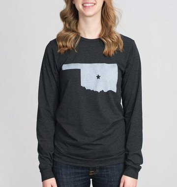 Shop Good: Tees Center of OK Long Sleeve Tee