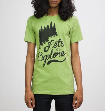 Shop Good: Tees Let's Go Explore Tee
