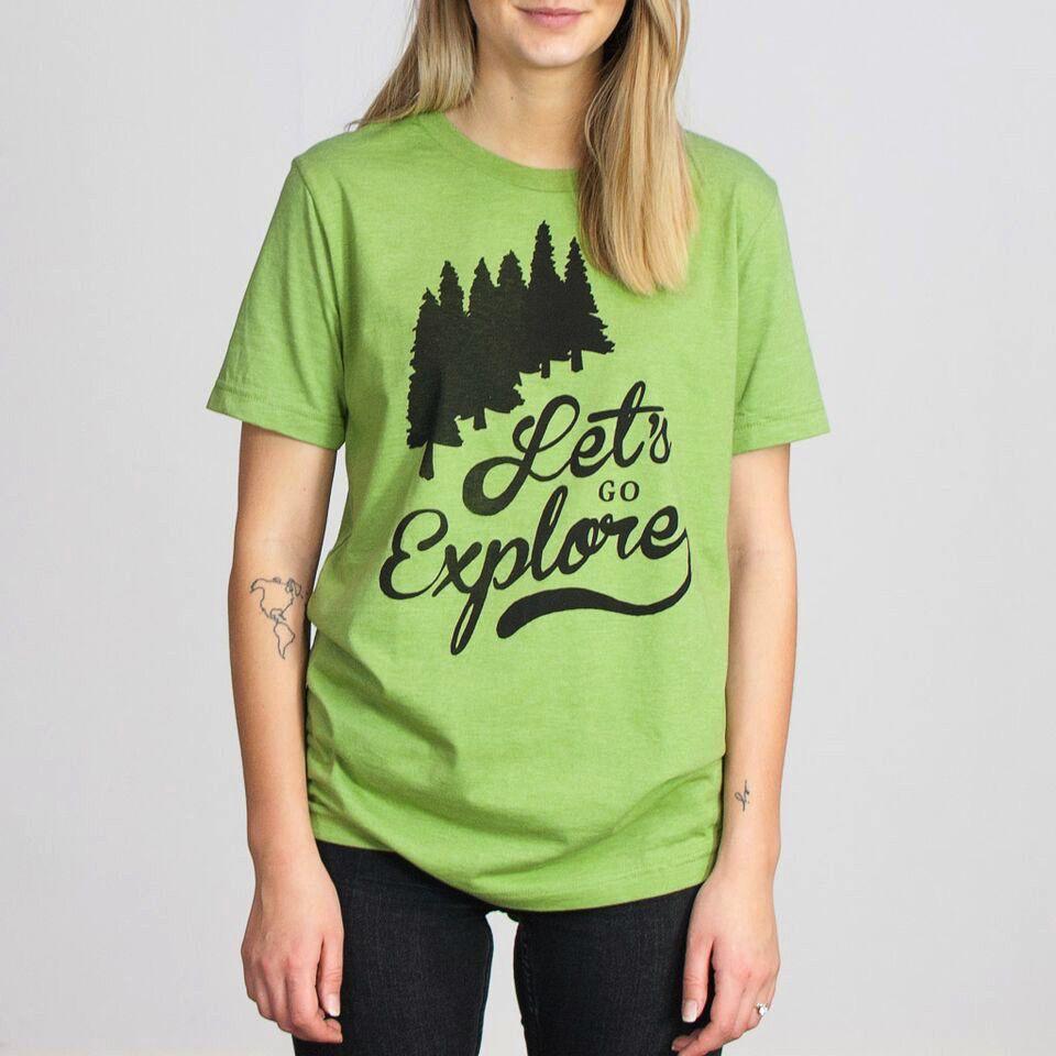 Shop Good: Tees Let's Go Explore Tee