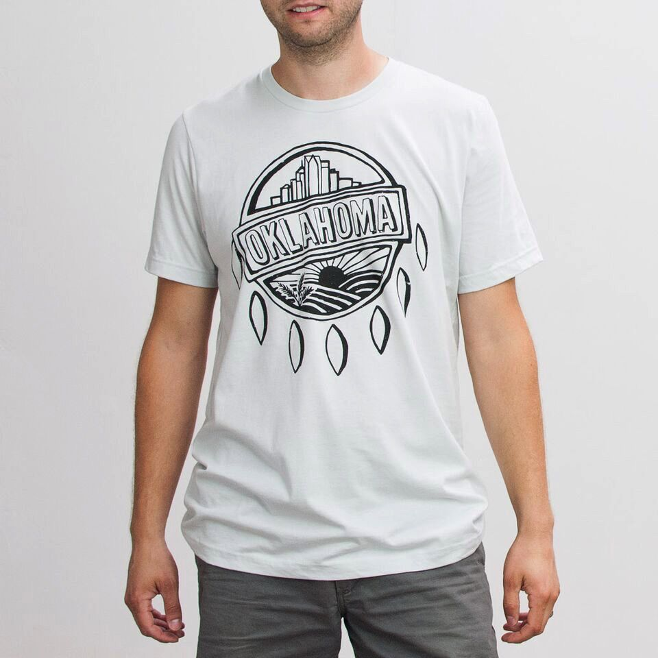 Shop Good: Tees OK Shield Sketch Tee