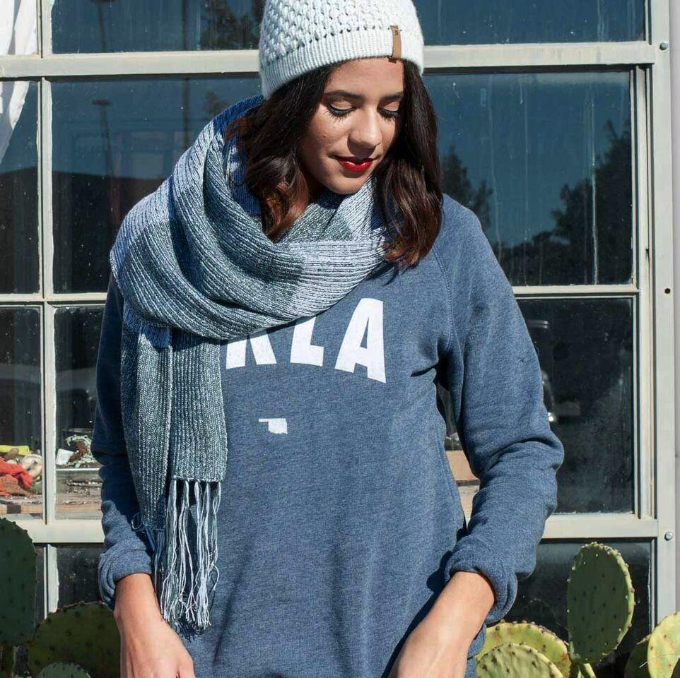 Shop Good: Tees OKLA Pullover Sweatshirt