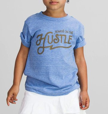 Shop Good: Tees Always on the Hustle Kids Tee