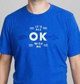 Shop Good: Tees It's All OK Tee - Blue