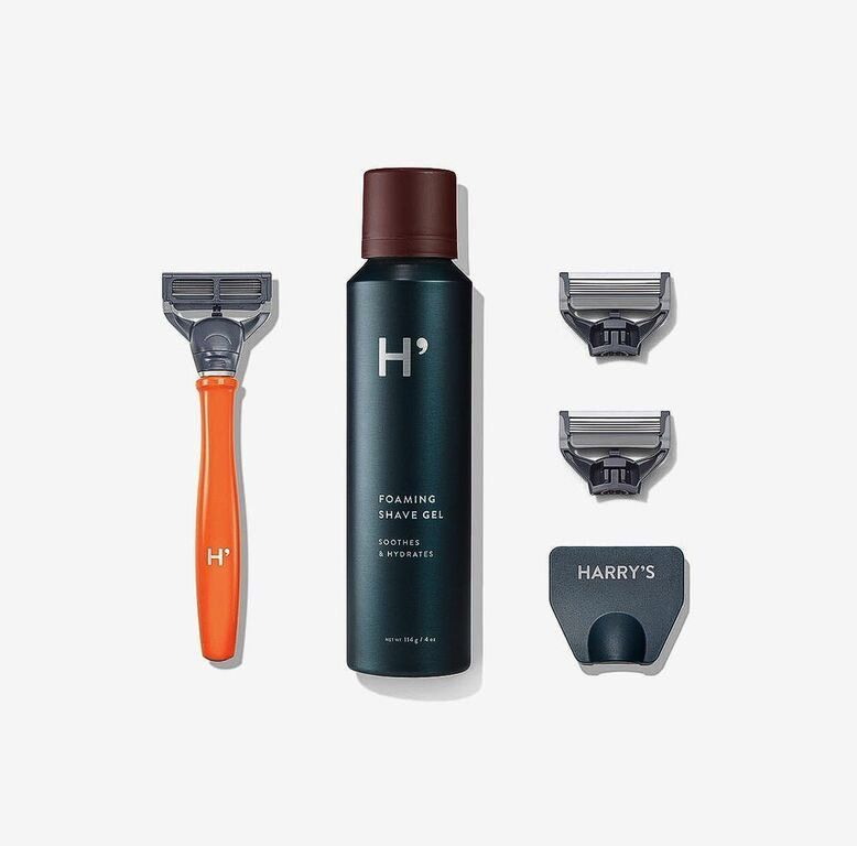 Harry's Truman Shave Set - Total Orange