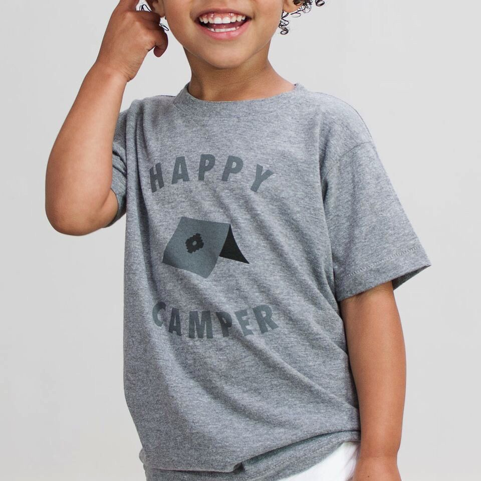 Shop Good: Tees Happy Camper Kids Tee