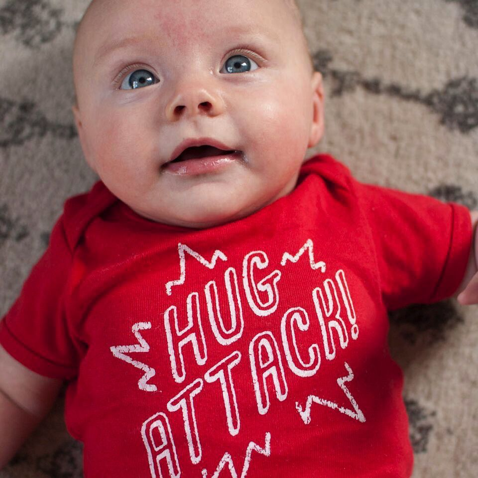 Shop Good: Tees Hug Attack Onesie