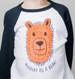 Shop Good: Tees Hungry as a Bear 3/4 Sleeve Baseball Tee