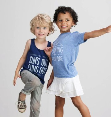 Shop Good: Tees Looking For Adventure Kids Tee