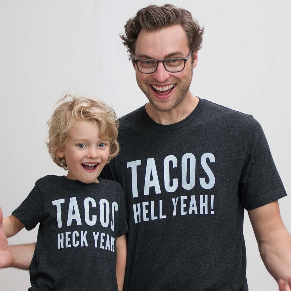 Shop Good: Tees Tacos Heck Yeah! Kids Tee