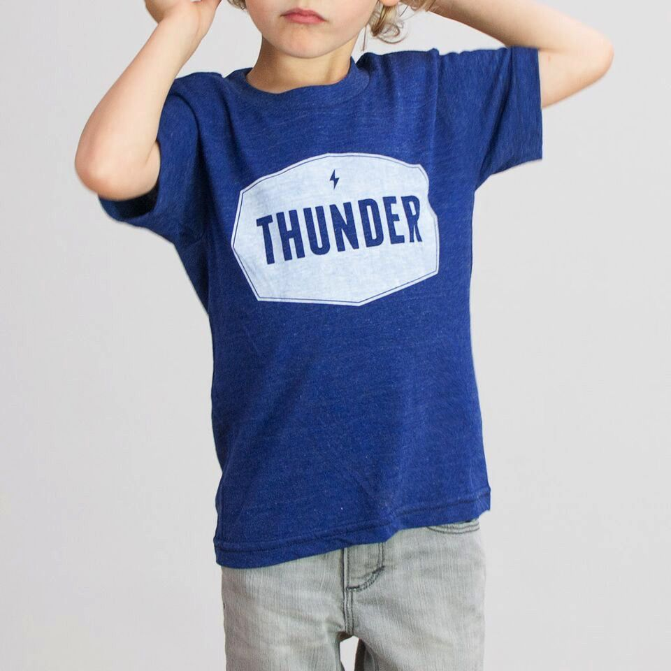 Shop Good: Tees Thunder Label Kids Tee