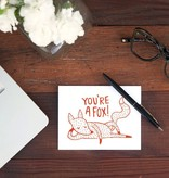 Shop Good: Paper You're A Fox Greeting Card