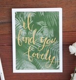 Shop Good: Paper I Find You Lovely Greeting Card