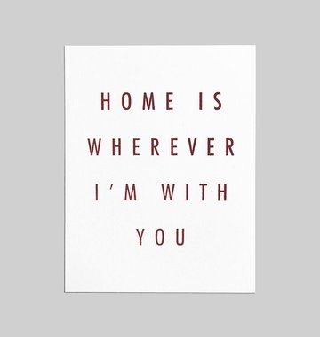 Shop Good: Paper Home Greeting Card