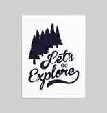 Shop Good: Paper Let's Go Explore Greeting Card