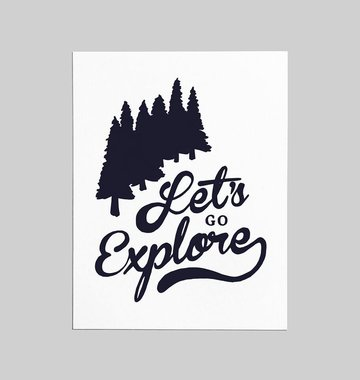 Shop Good: Paper Let's Go Explore Greeting Card
