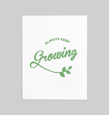 Shop Good: Paper Always Keep Growing Greeting Card