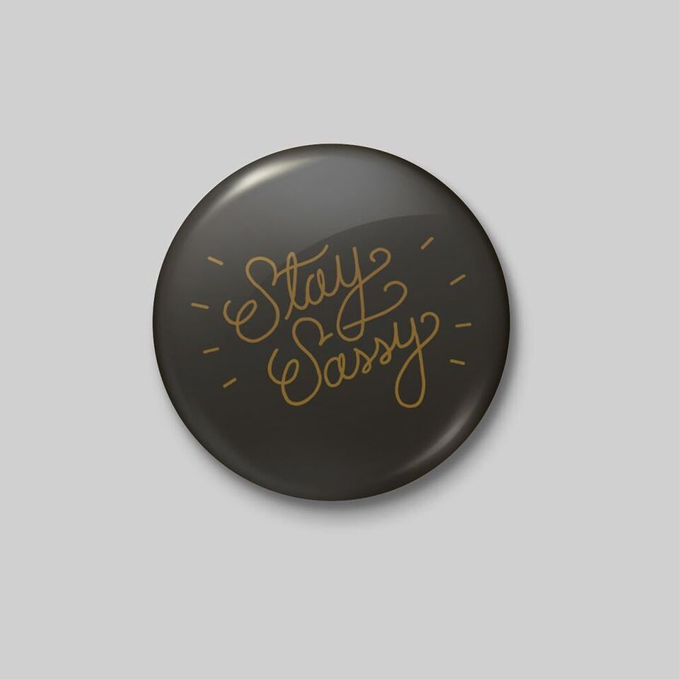 Shop Good: Buttons Stay Sassy Button