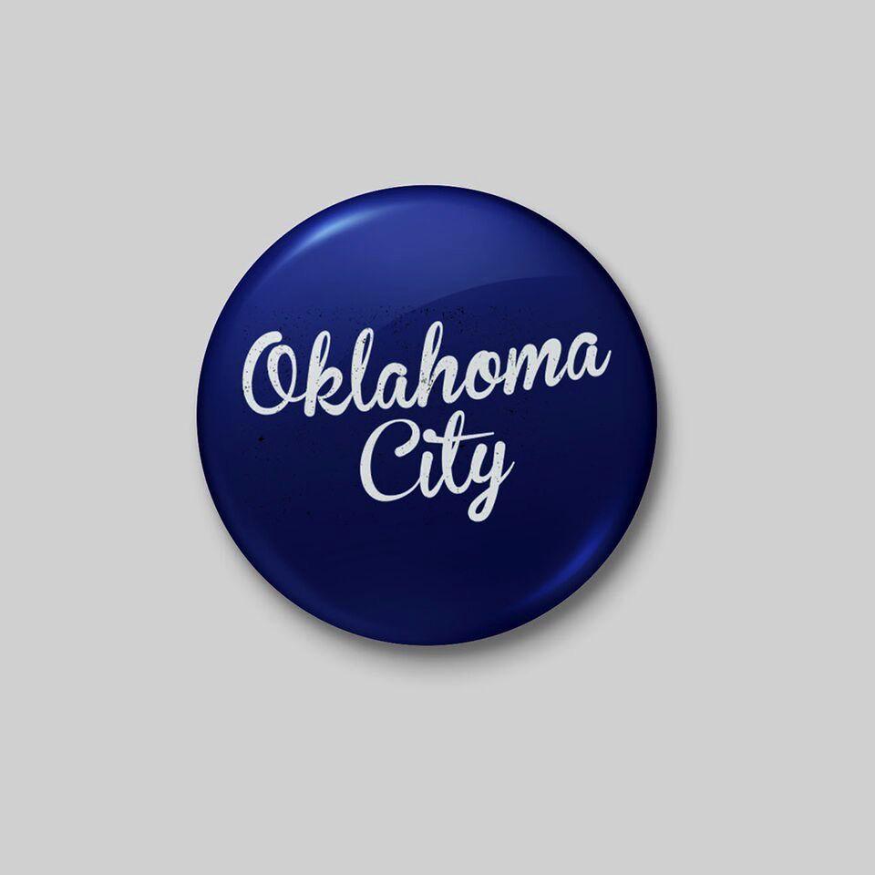 Shop Good: Buttons Oklahoma City Button