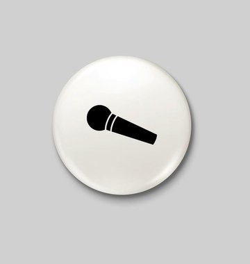 Shop Good: Buttons Mic Drop Button