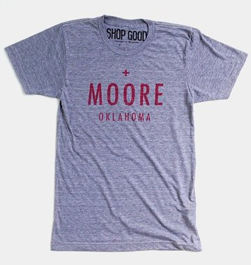 Shop Good: Tees Moore Tornado Relief Benefit Tee