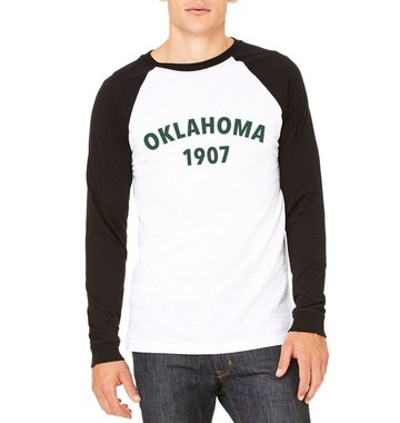 Shop Good: Tees Oklahoma Heritage Baseball Tee