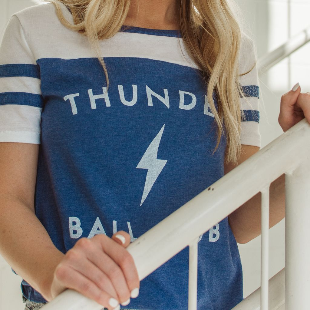 Shop Good: Tees Thunder Ball Club Stadium Tee