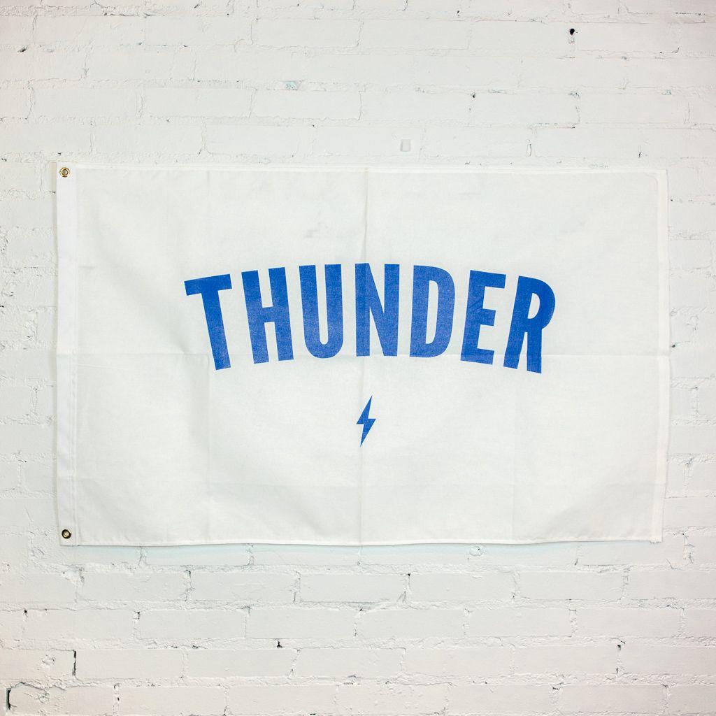 Shop Good: Handmade Thunder Classic Flag