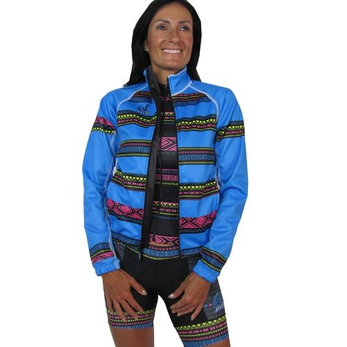 Women's Sofshell Jacket : Tribal Collection : Blue