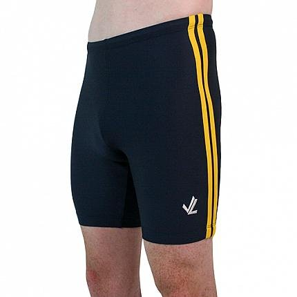 Polypro Double Speed Stripe Trou : Navy / Gold
