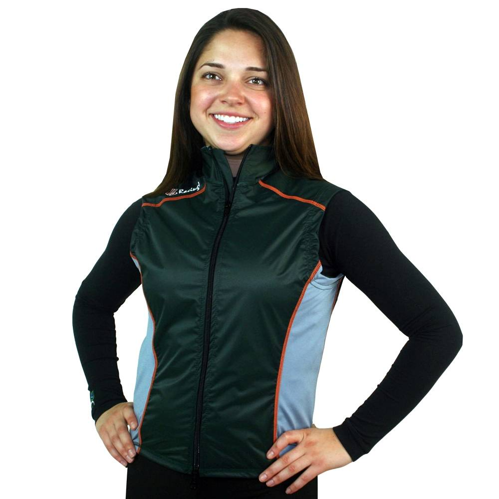 Women's Splash Vest : Forest / Grey