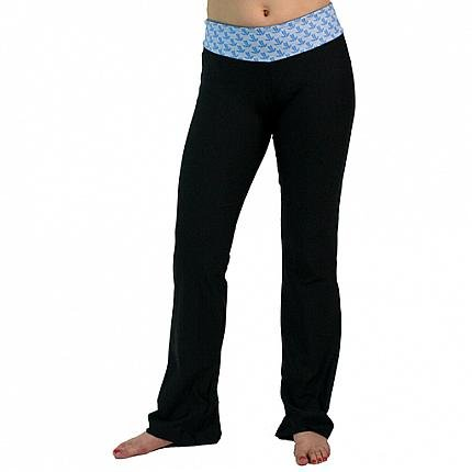JL Logo Yoga Pants : Blue
