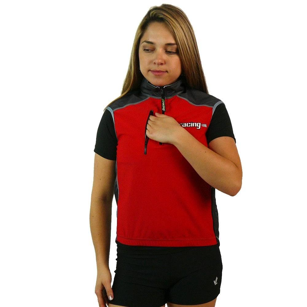 Women's Zaffiro Vest : Red / Carbon