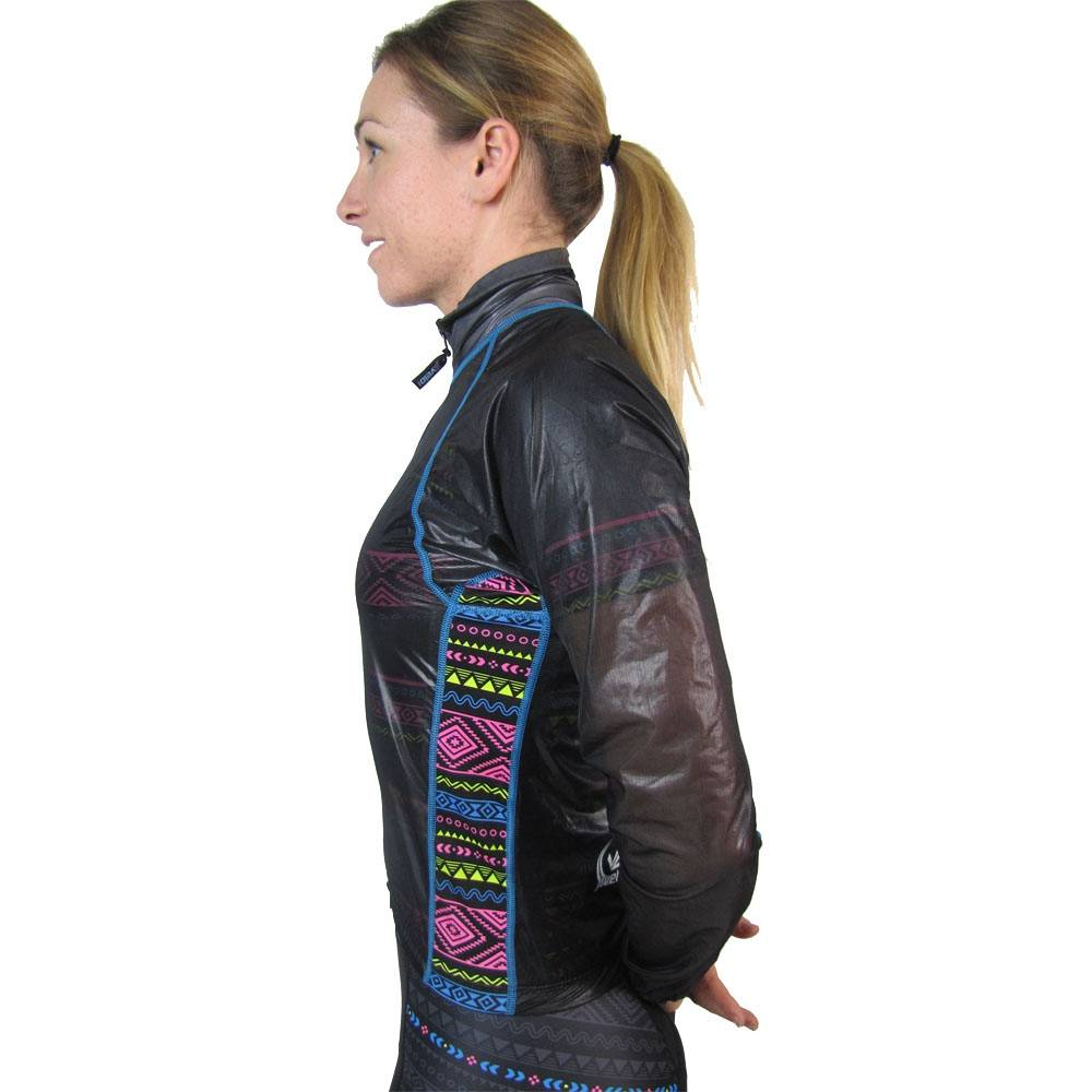 Women's Invisible Rain Jacket : Tribal Collection : Smokey