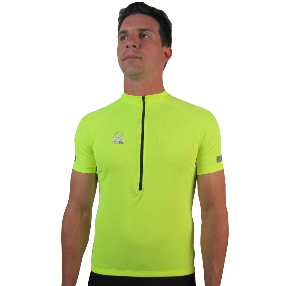 Men's Team Strip Jersey : Hi Viz