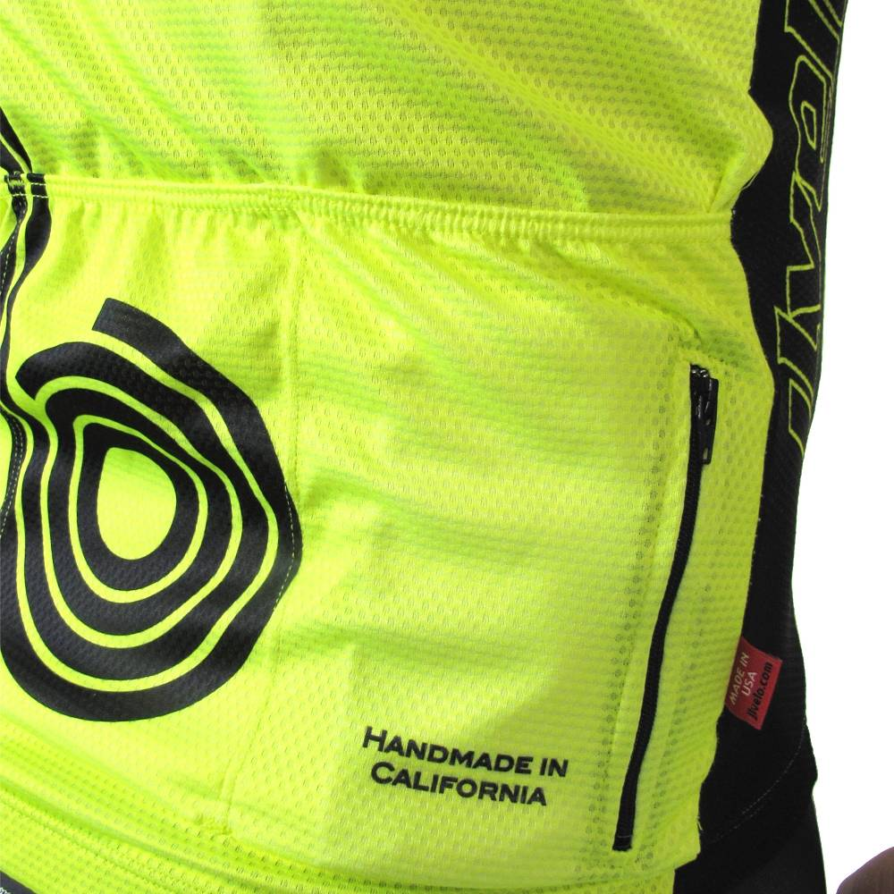 Men's California Incognito Jersey : Hi Viz