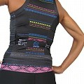 Women's Elite Tri Top : Tribal Collection : Black