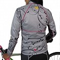 Women's Sofshell Jacket : Birds Collection : Grey