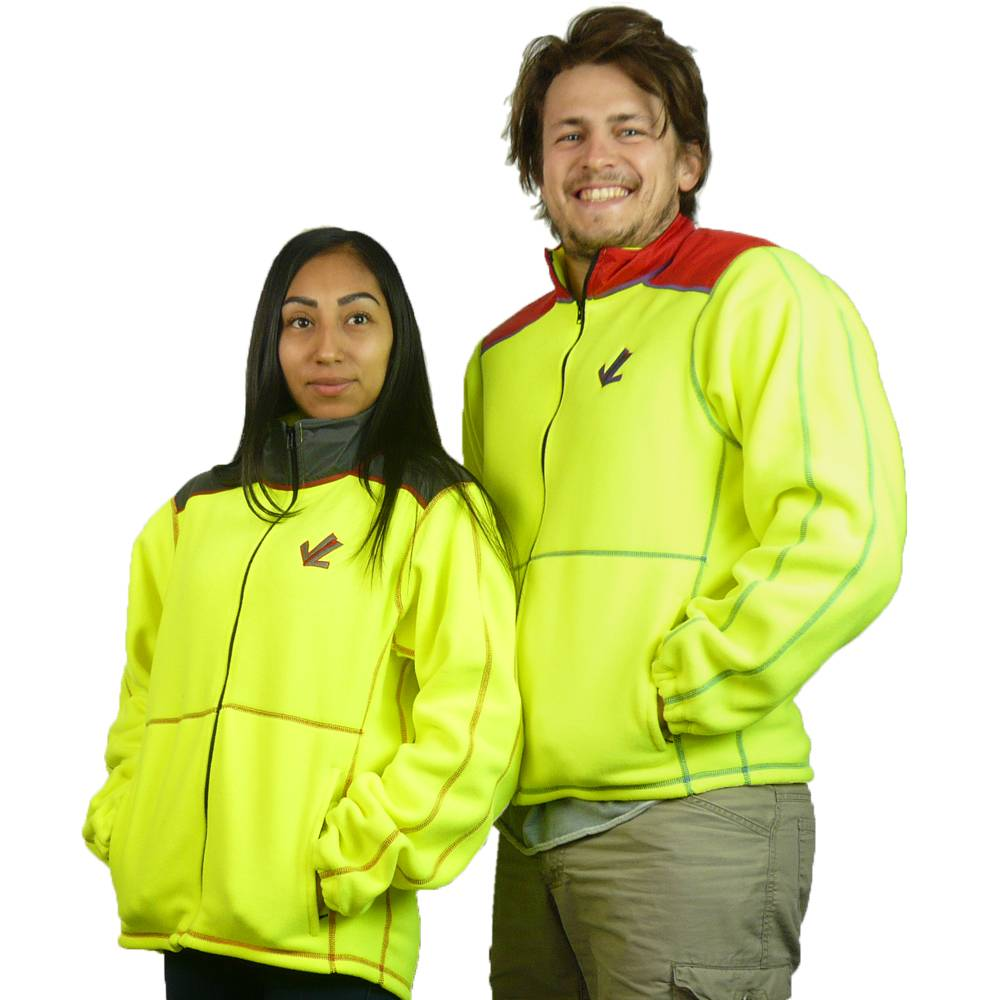 Fleece Launch Jacket - Waterproof Shoulders