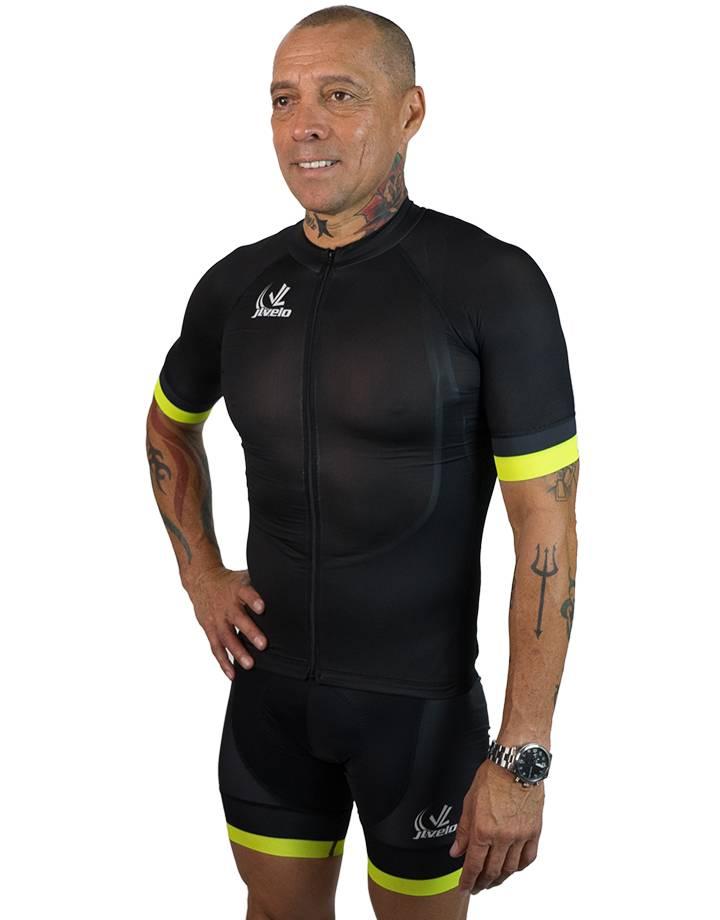 Men's SDP Jersey : The Black Lights Collection : Hi - Viz Yellow