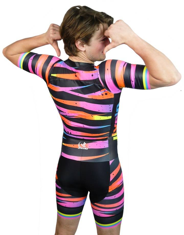 Men's Fusion Suit : Bright Lights Collection : Pink