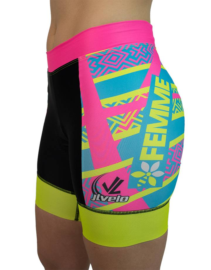 Women's Banded Tri Shorts : Team Femme