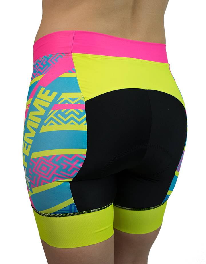 Women's Banded Tri Shorts : Team Femme
