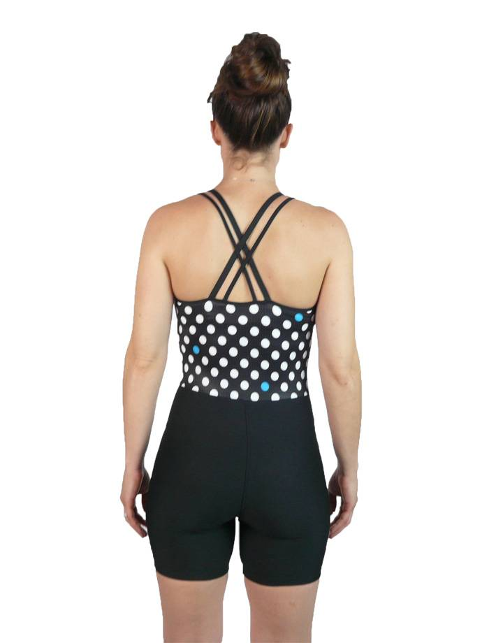 Women's Tangled Unisuit :  Polka Dot