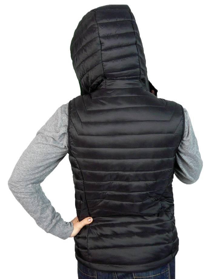 Women's Gravity Puffy Vest : Black