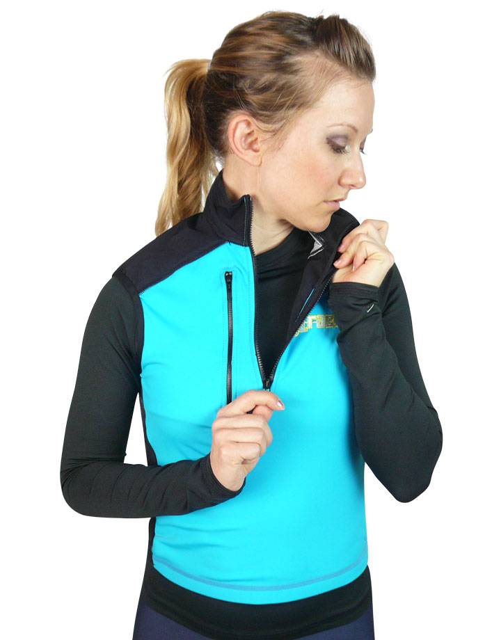 Women's Thermo Turtle Shell : Turquoise / Black