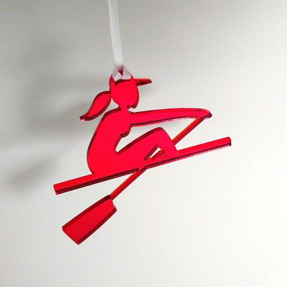 Starboard Souvenirs :  Female Rower : Red