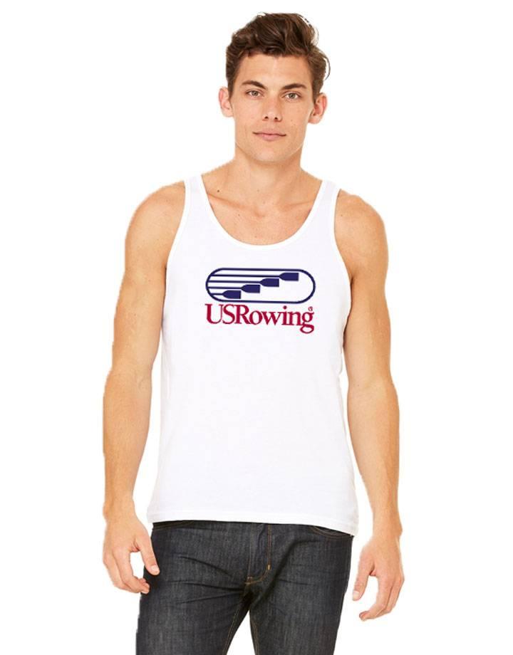 USR Men's Tank White