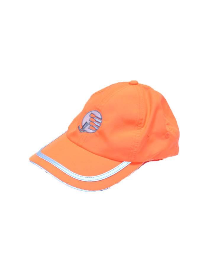 Hi Viz Saftey Hat : Neon Orange