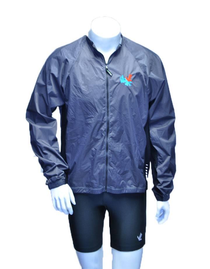 Full Zip Wind Jacket : Carbon